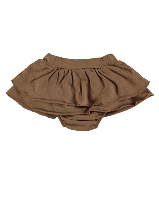 Bloomer with skirt<br>CARAMEL