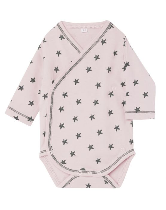 Body cruzado manga larga<br>LITTLE STAR ROSA