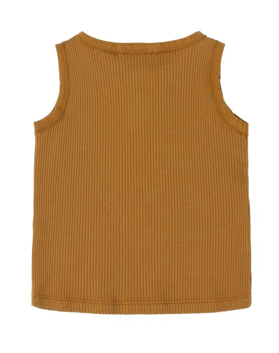 Tank tee<br>CURRY