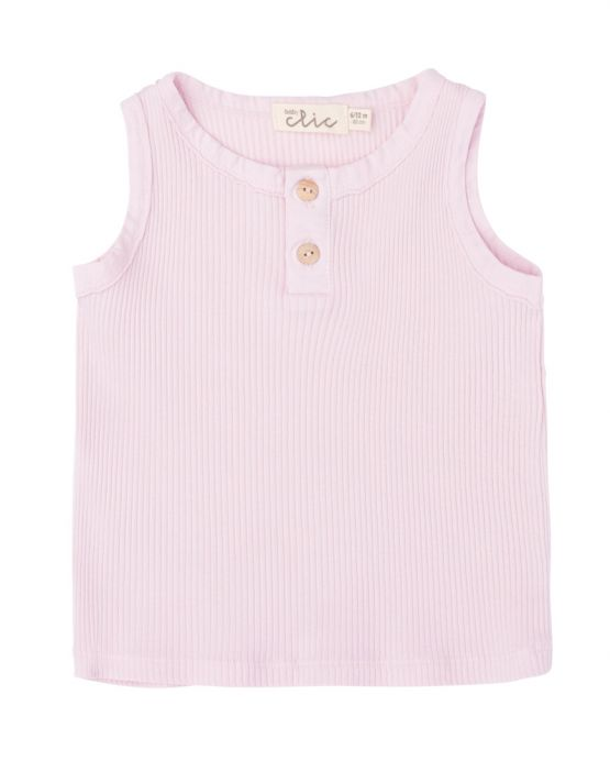 Tank tee<br>PINK