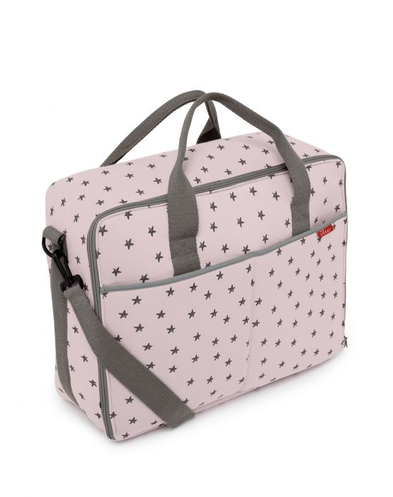 Barcelona suit case<br>PINK LITTLE STAR