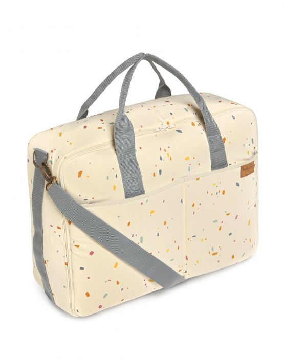 Barcelona suit case<br>CONFETTI IVORY