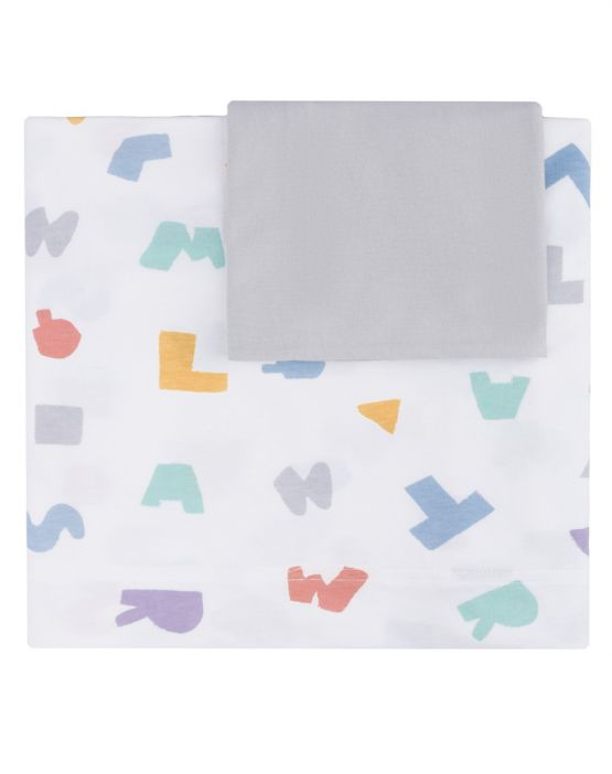 Set of sheet<br>MULTICOLOR LETRAS