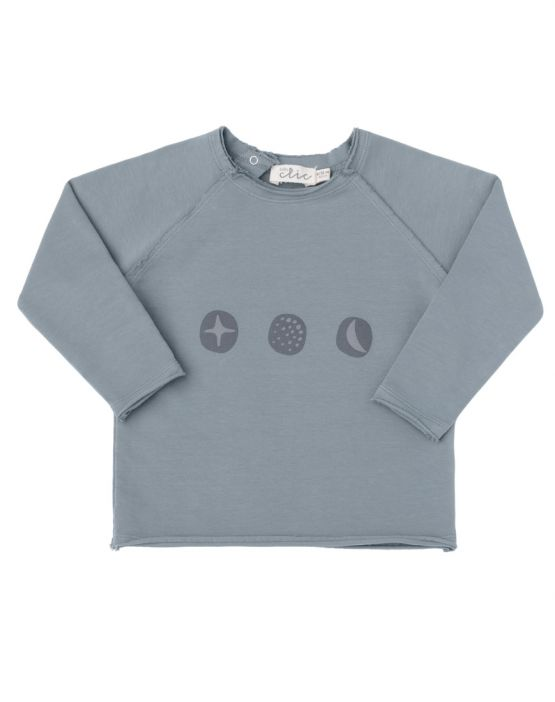 Sweatshirt<br>FOREST GREEN COSMOS